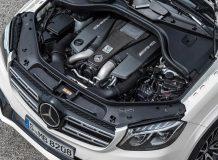 Двигатель GLS 63 фото