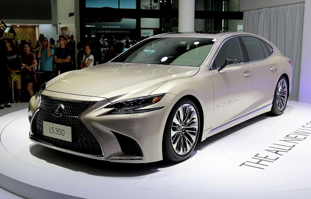Новый Lexus LS 350
