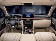 Салон Lexus LX 450d