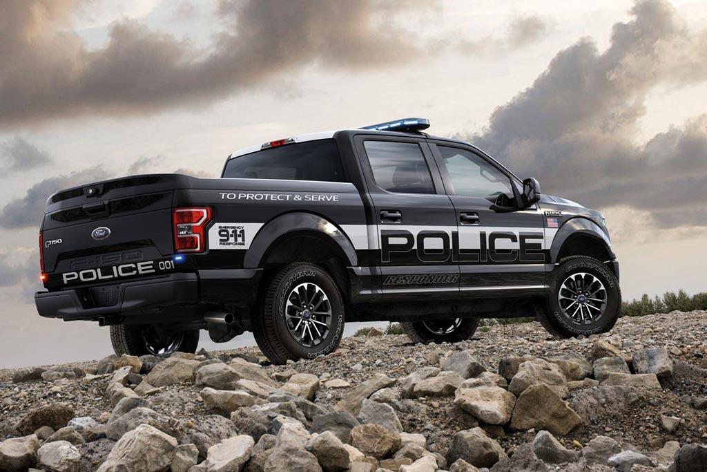 Полицейский Форд Ф-150
