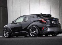 Диски на Toyota C-HR от Kuhl Racing фото
