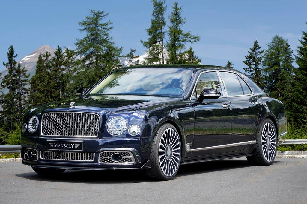 Bentley Mulsanne от Mansory