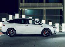 Диски Vossen на Tesla Model X фото