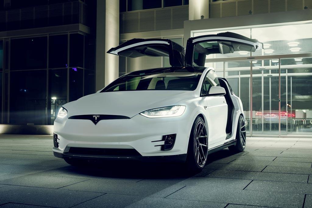 Tesla Model X в обвесе от Novitec