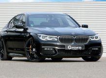 Фото тюнинг BMW 750d от G-Power