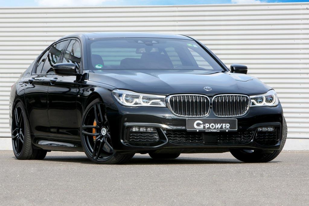 BMW 750d от ателье G-Power