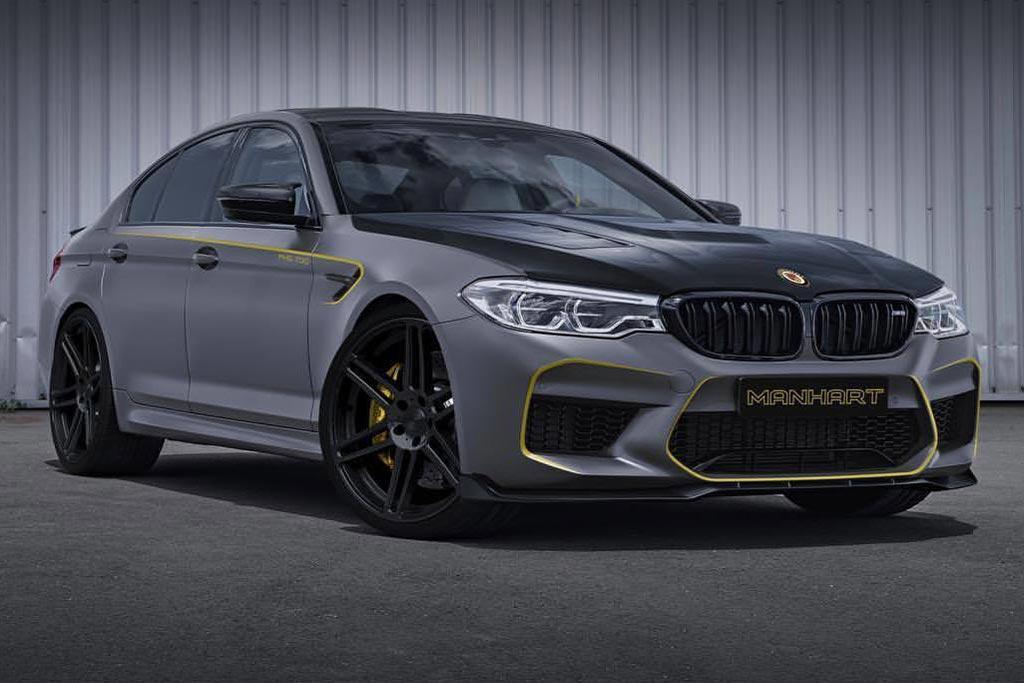 Рендер нового BMW M5 от Manhart