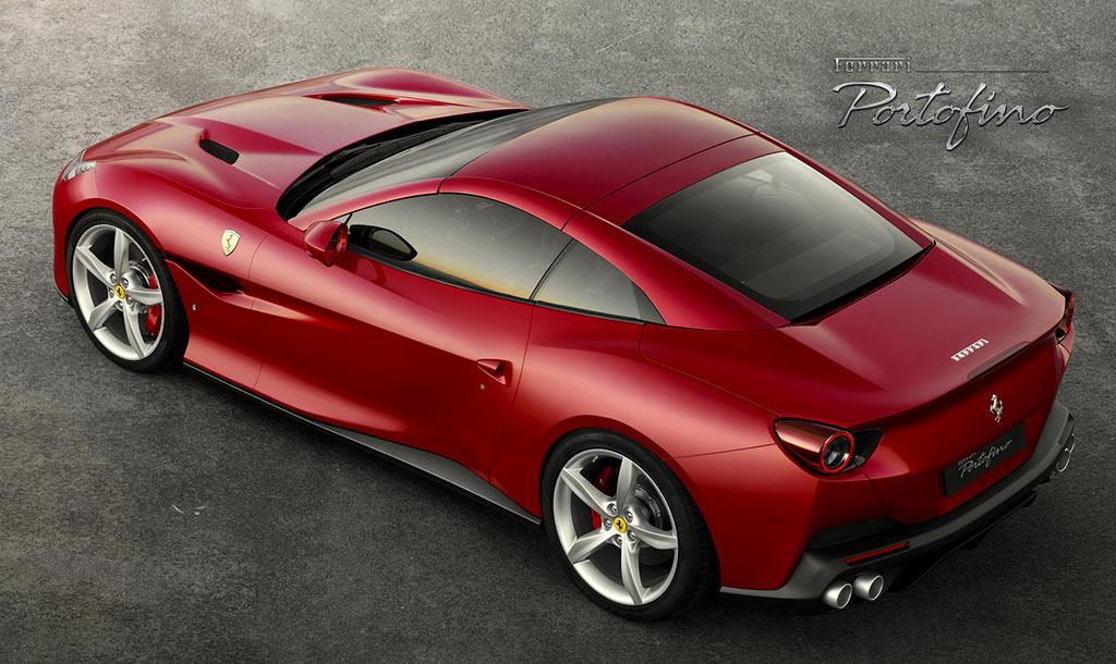 Новая модель Ferrari Portofino 2018