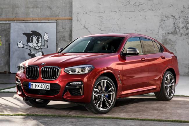 Новая модель BMW X4 2019