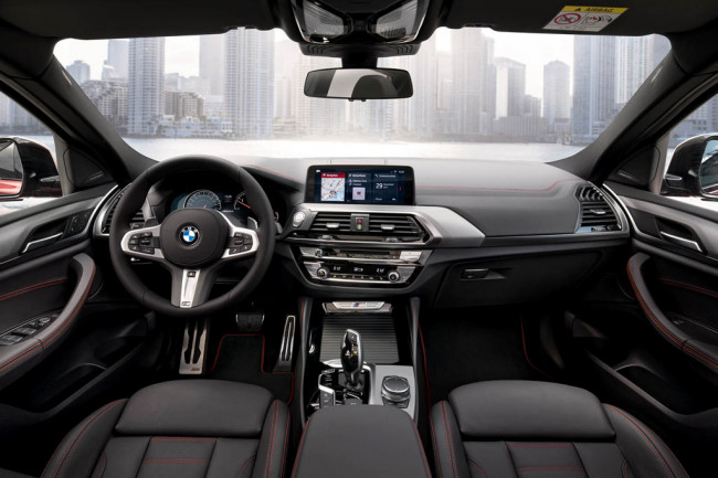 Салон BMW X4 M40i