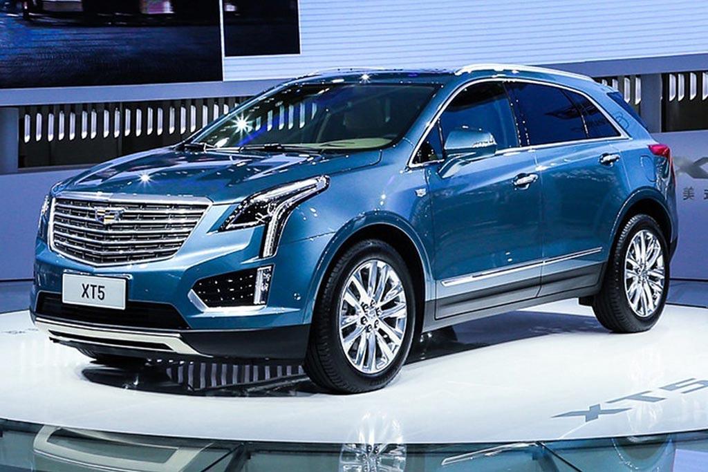 Гибридный Cadillac XT5