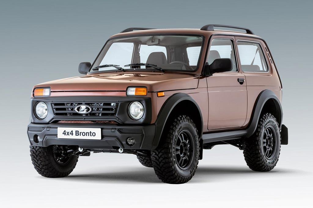 Фото новой Lada 4x4 Bronto