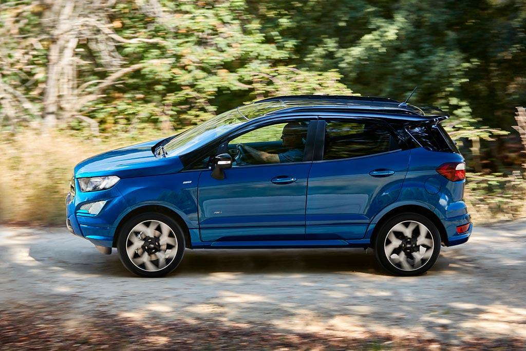 Новый Ford EcoSport 2018 года