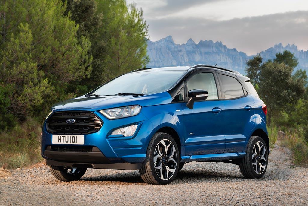 Новая модель Форд эко Спорт 2018 фото