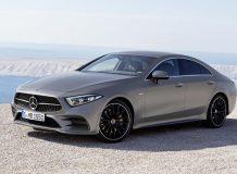 Фото нового Mercedes-Benz CLS 2018