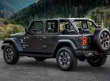 Новый Jeep Wrangler JL 2018 фото