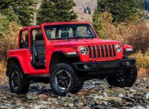 Новый Jeep Wrangler Rubicon 2018 фото