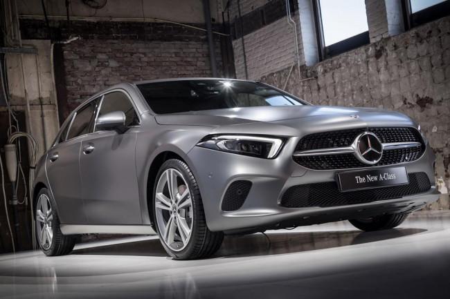 Базовый Mercedes A-Klasse W177