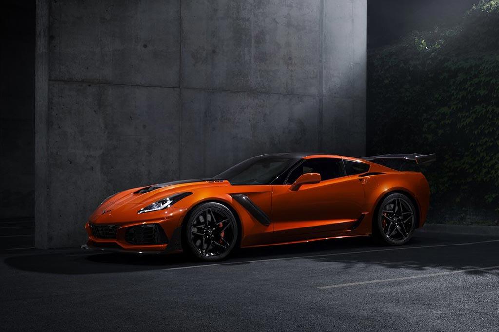 Новая модель Corvette ZR1