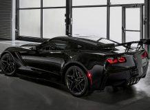 Фото Corvette ZR1 в новом кузове