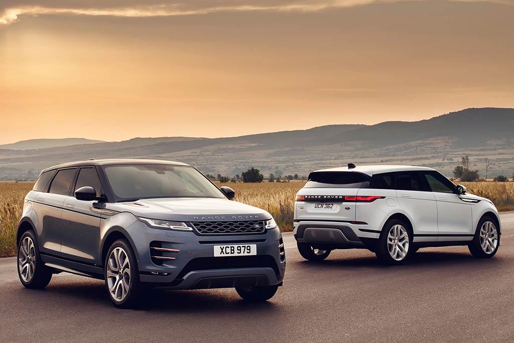 Range Rover Evoque 2020 в новом кузове