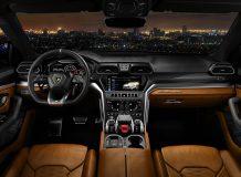 Фото салона Lamborghini Urus SUV
