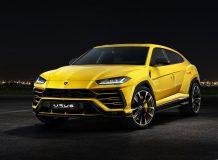 Новая модель Lamborghini Urus фото