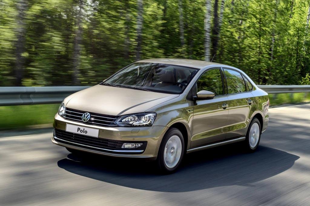 VW Polo седан