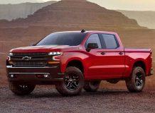 Фото нового Chevrolet Silverado 2019