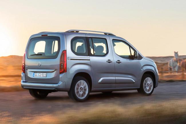Пассажирский Opel Combo 2019