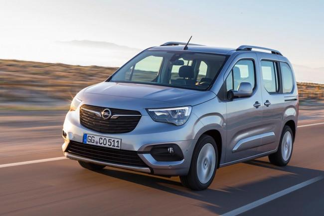Новый Opel Combo Life 2018