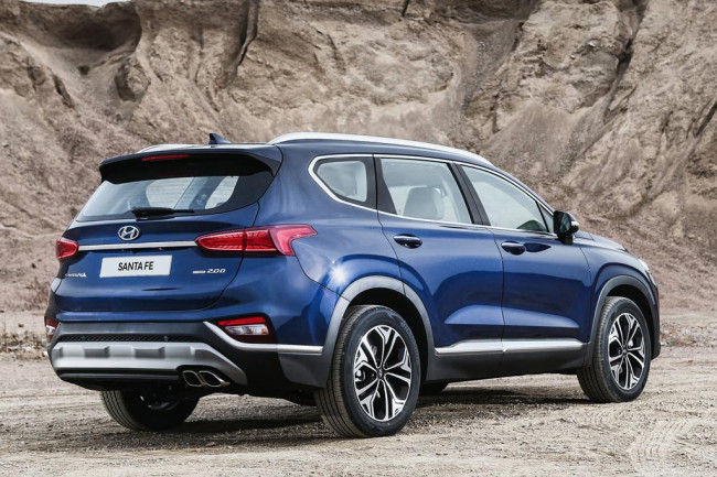 Новая модель Hyundai Santa Fe 2018
