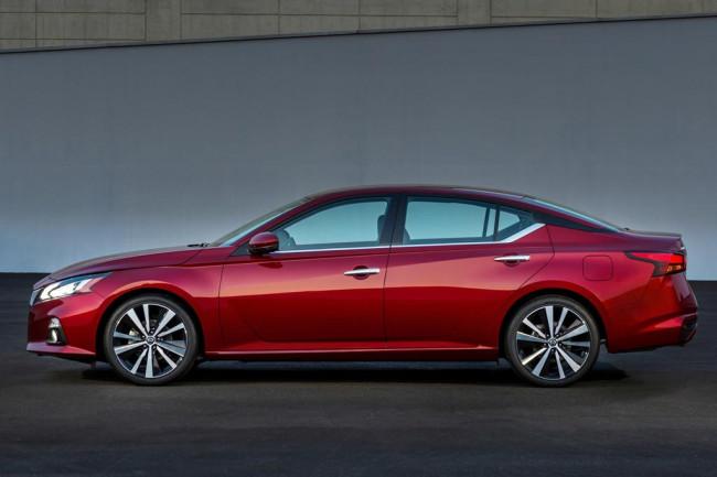 Nissan Teana в новом кузове