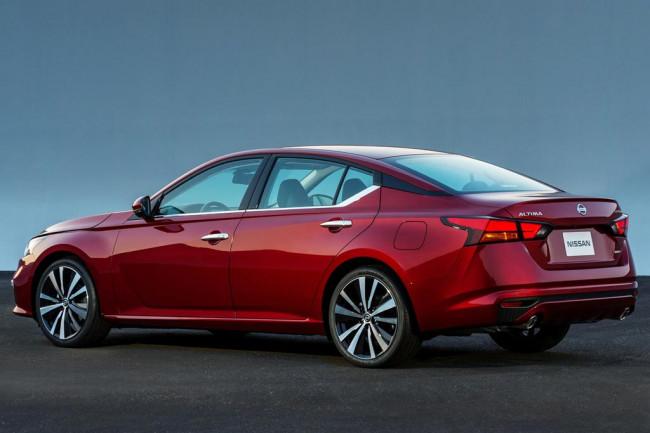 Новая модель Nissan Altima 2019