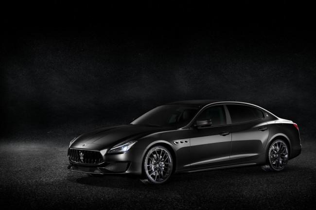 Maserati Quattroporte Nerissimo