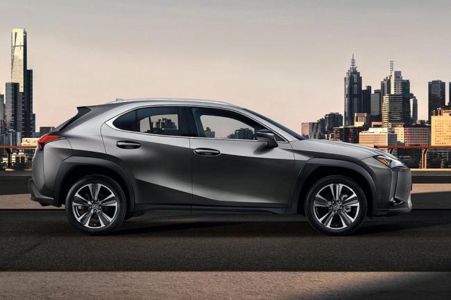 Новая модель Lexus UX 2019