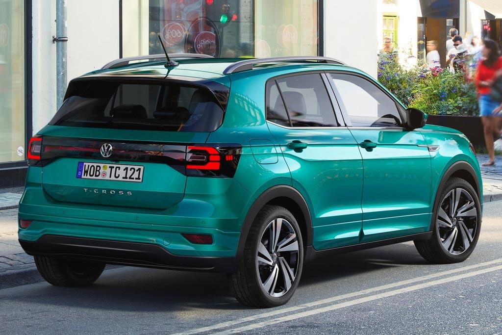 VW T-Cross 2019 в новом кузове