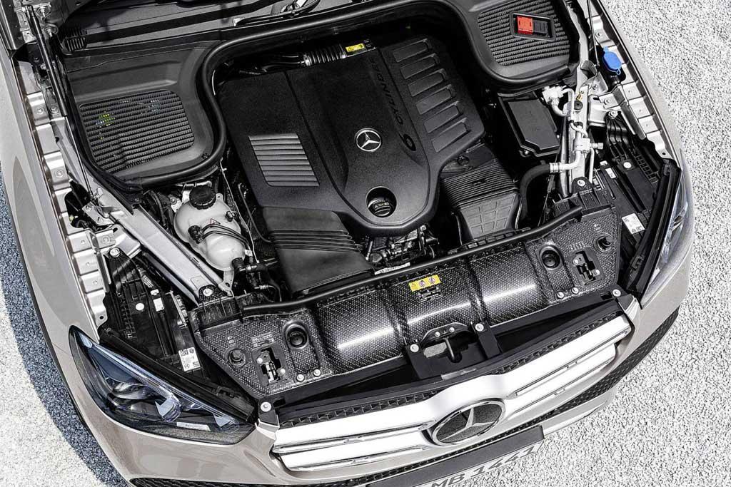 Двигатель Мерседес GLE 450