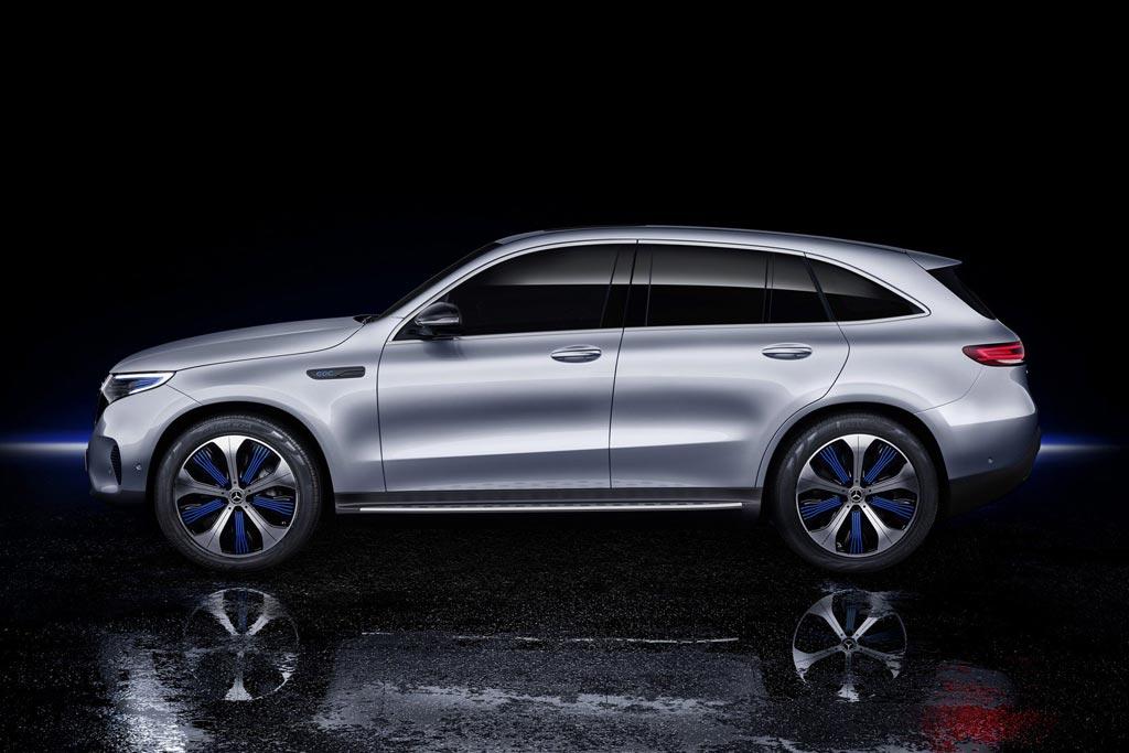 Новая модель Mercedes EQC