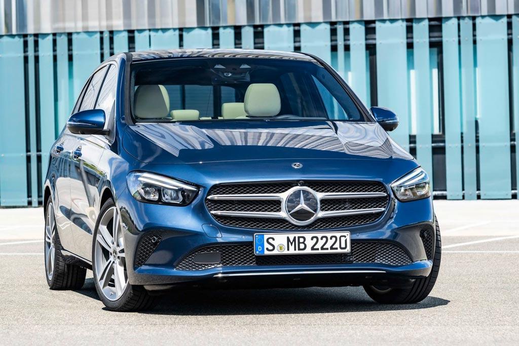Новый Mercedes B-Class 2019