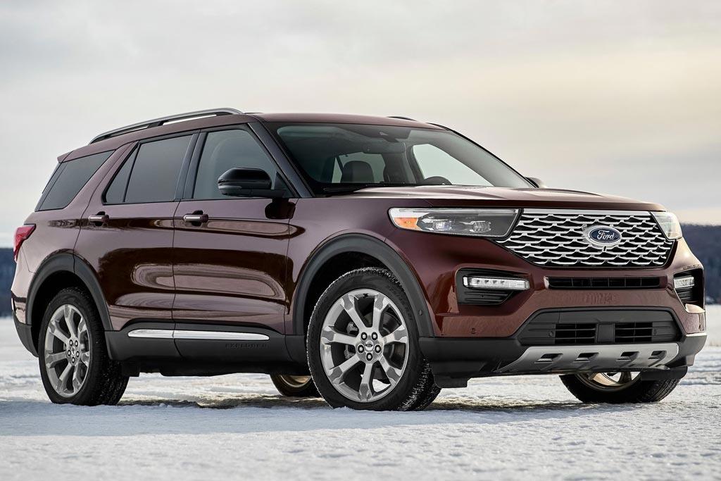Новый кузов Форд Эксплорер 2020