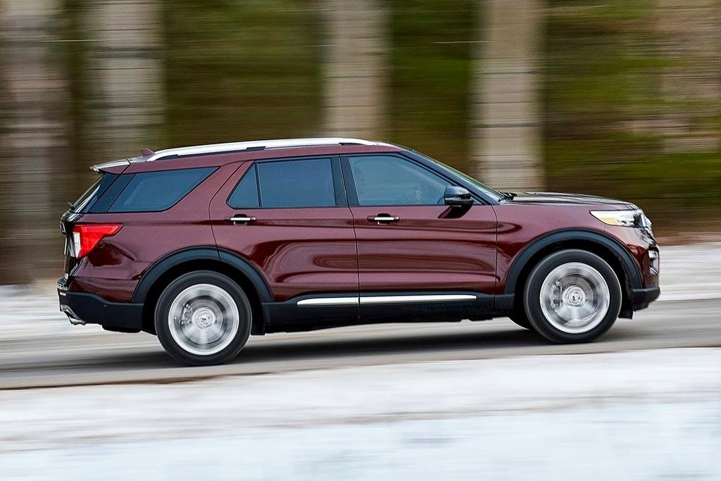 Новая модель Ford Explorer 2020
