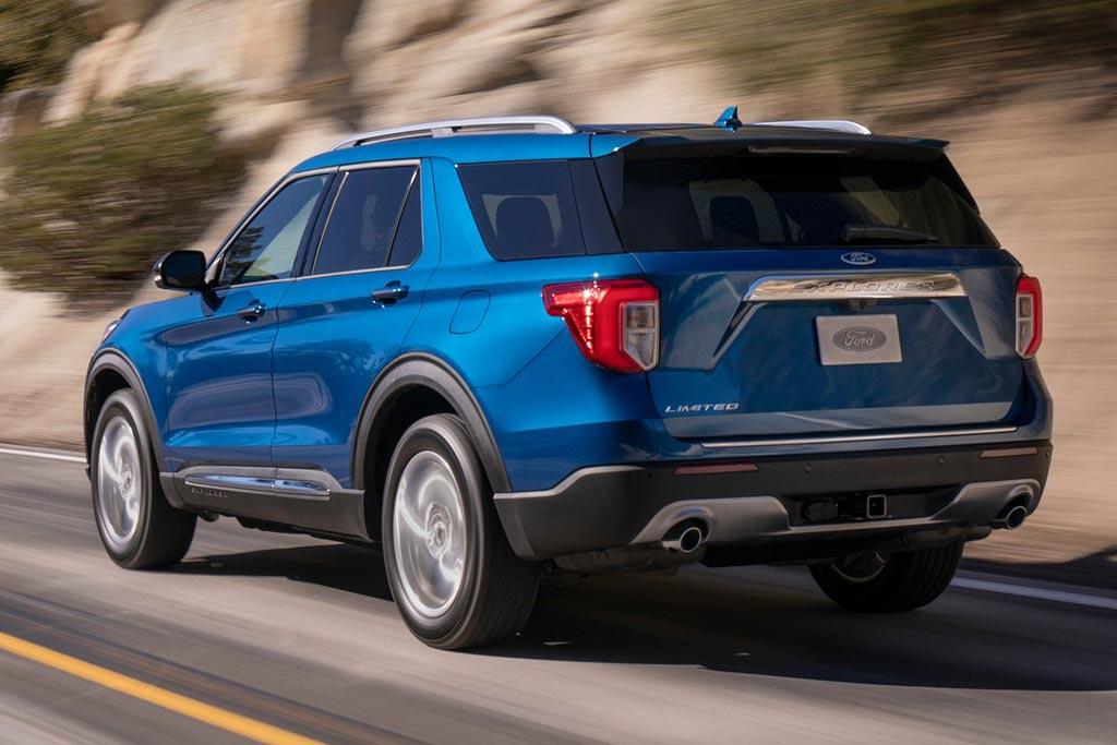 Новый Форд Эксплорер 2020 года