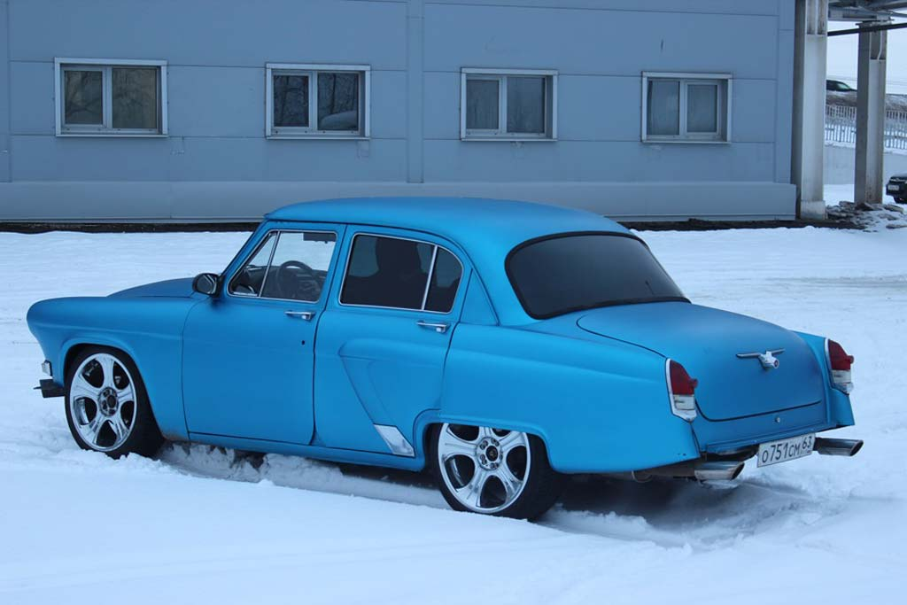 ГАЗ-21 twin-turbo