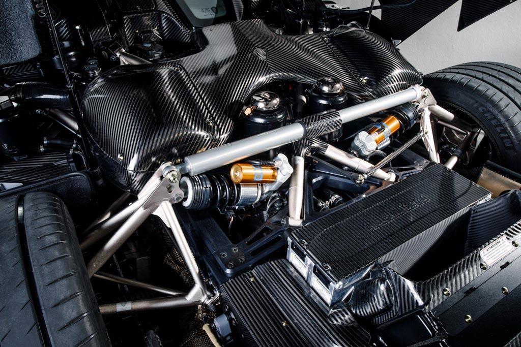 Карбоновый Koenigsegg Regera