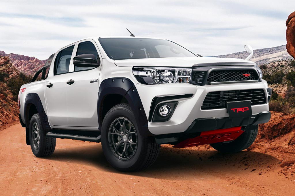 TRD Hilux Black Rally