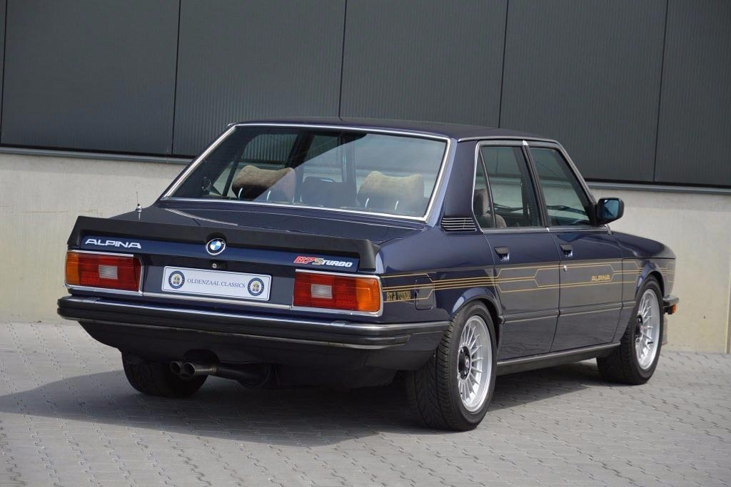 BMW Alpina B7 Turbo (E12)