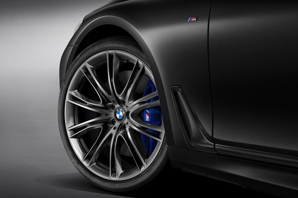 BMW 7-Series Black Fire