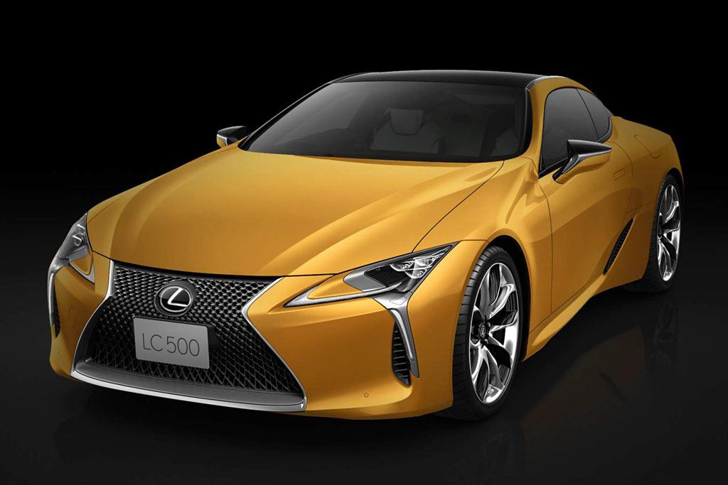 Lexus LC 500 Flare Yellow