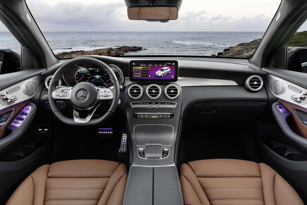 Салон Mercedes GLC